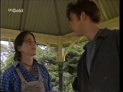 Darren Stark, Malcolm Kennedy in Neighbours Episode 2664
