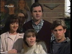 Susan Kennedy, Billy Kennedy, Libby Kennedy, Karl Kennedy, Malcolm Kennedy in Neighbours Episode 2664