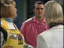 Angie Rebecchi, Stonie Rebecchi, Joanna Hartman in Neighbours Episode 2665