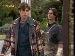 Malcolm Kennedy, Darren Stark in Neighbours Episode 2665