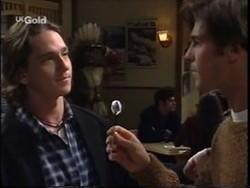 Darren Stark, Malcolm Kennedy in Neighbours Episode 2665