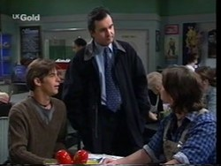 Malcolm Kennedy, Karl Kennedy, Darren Stark in Neighbours Episode 2666