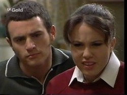 Stonie Rebecchi, Libby Kennedy in Neighbours Episode 2666