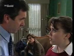 Karl Kennedy, Malcolm Kennedy, Libby Kennedy in Neighbours Episode 2666