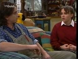 Darren Stark, Libby Kennedy in Neighbours Episode 2666