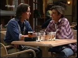 Darren Stark, Malcolm Kennedy in Neighbours Episode 2667