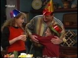 Debbie Martin, Philip Martin, Hannah Martin in Neighbours Episode 2667