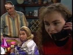 Philip Martin, Helen Daniels, Debbie Martin in Neighbours Episode 2667