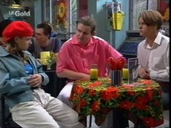 Hannah Martin, Toadie Rebecchi, Billy Kennedy in Neighbours Episode 2668