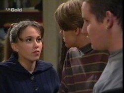 Libby Kennedy, Billy Kennedy, Toadie Rebecchi in Neighbours Episode 2668