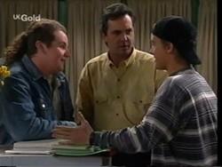 Toadie Rebecchi, Karl Kennedy, Billy Kennedy in Neighbours Episode 2669