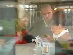 Danni Stark, Luke Handley, Samantha Phillips in Neighbours Episode 2670