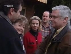 Karl Kennedy, Marlene Kratz, Helen Daniels, Philip Martin, Lou Carpenter in Neighbours Episode 2670