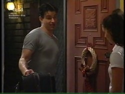 Vince DeBolfo, Sarah Beaumont in Neighbours Episode 2766