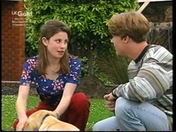 Anne Wilkinson, Bonnie, Billy Kennedy in Neighbours Episode 2766
