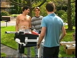 Vince DeBolfo, Billy Kennedy, Luke Handley in Neighbours Episode 2766