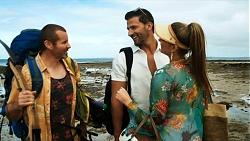 Toadie Rebecchi, Pierce Greyson, Chloe Brennan in Neighbours Episode 8320