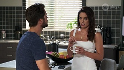 Mark Brennan, Paige Smith in Neighbours Episode 8321