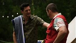 Finn Kelly, Toadie Rebecchi in Neighbours Episode 8321