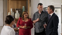 Paige Smith, Terese Willis, Des Clarke, Paul Robinson in Neighbours Episode 8322