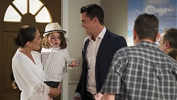 Paige Smith, Gabriel Smith, Jack Callahan, Des Clarke, Terese Willis, Paul Robinson in Neighbours Episode 8322