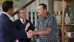 Jack Callahan, Paul Robinson, Des Clarke in Neighbours Episode 8322