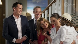 Jack Callahan, Paul Robinson, Terese Willis, Paige Smith, Gabriel Smith in Neighbours Episode 8322