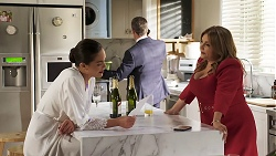 Paige Smith, Paul Robinson, Terese Willis in Neighbours Episode 8322