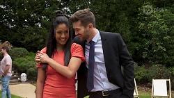 Yashvi Rebecchi, Ned Willis in Neighbours Episode 8322