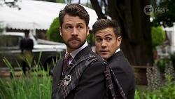 Mark Brennan, Aaron Brennan in Neighbours Episode 8322