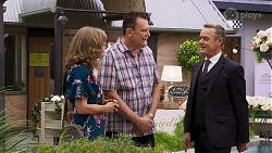 Jane Harris, Des Clarke, Paul Robinson in Neighbours Episode 8322