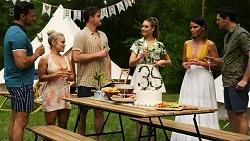 Pierce Greyson, Roxy Willis, Kyle Canning, Chloe Brennan, Elly Conway, Finn Kelly in Neighbours Episode 8322