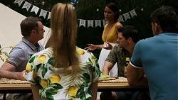 Gary Canning, Chloe Brennan, Elly Conway, Finn Kelly, Pierce Greyson in Neighbours Episode 8322