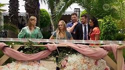 Lana Crawford, Sky Mangel, Shane Rebecchi, Ned Willis, Dipi Rebecchi in Neighbours Episode 8323