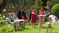 Lana Crawford, Sky Mangel, Ned Willis, Yashvi Rebecchi  Terese Willis, Dipi Rebecchi, Shane Rebecchi in Neighbours Episode 8323