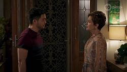 David Tanaka, Susan Kennedy in Neighbours Episode 8324