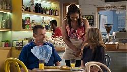 Des Clarke, Dipi Rebecchi, Jane Harris in Neighbours Episode 8324