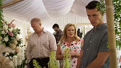 Clive Gibbons, Sheila Canning, Jack Callahan in Neighbours Episode 8324