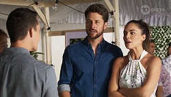 Jack Callahan, Mark Brennan, Paige Smith in Neighbours Episode 8324