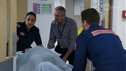 Patricia Hillman, Bea Nilsson, Karl Kennedy in Neighbours Episode 8326
