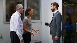 Karl Kennedy, Elly Conway, Mark Brennan in Neighbours Episode 8327