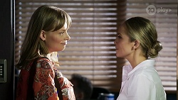 Lana Crawford, Sky Mangel in Neighbours Episode 8327