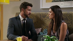 Mark Brennan, Paige Smith in Neighbours Episode 8327