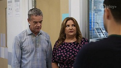 Paul Robinson, Terese Willis, David Tanaka in Neighbours Episode 8328