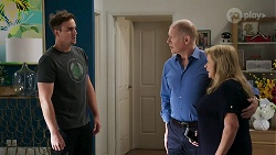 Kyle Canning, Clive Gibbons, Sheila Canning in Neighbours Episode 8328