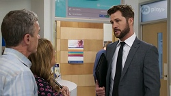 Paul Robinson, Terese Willis, Mark Brennan in Neighbours Episode 8328