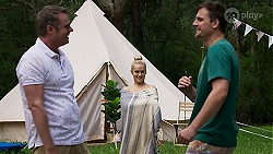 Gary Canning, Roxy Willis, Kyle Canning in Neighbours Episode 8328