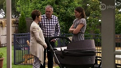 Susan Kennedy, Karl Kennedy, Elly Conway in Neighbours Episode 8329