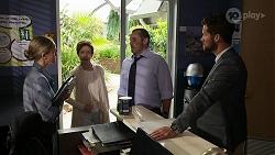Sky Mangel, Susan Kennedy, Toadie Rebecchi, Mark Brennan in Neighbours Episode 8330