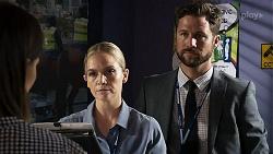 Elly Conway, Sky Mangel, Mark Brennan in Neighbours Episode 8330